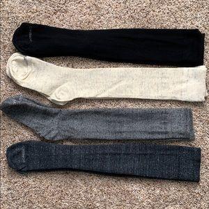 Bombas lightweight knee socks - 4 pair-size Medium